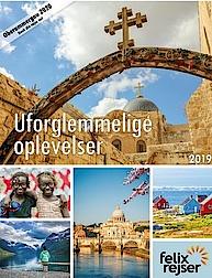 Rejsekataloget for 2019 fra Felix Rejser